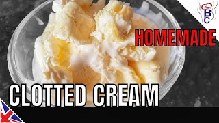 HOW-TO-MAKE-CLOTTED-CREAM-Cornish-or-Devonshire-Clotted-Cream-Cheap-Simple-Clotted-Cream-Tutorial width=