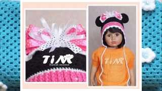getlinkyoutube.com-Детские вязаные шапочки от TIM. Children's crochet hats.