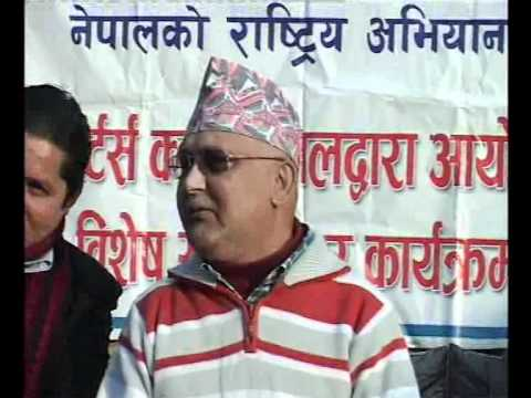 Face to Face with KP Sharma Oli