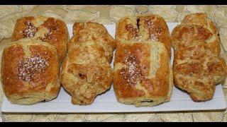 getlinkyoutube.com-Croissant aux amandes et petits pain au chocolat ... كرواسون باللوز وبتيبان بالشكلاط
