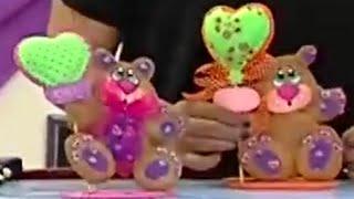 getlinkyoutube.com-Como hacer un Muñeco Oso Cariñoso en Foamy - Hogar Tv  por Juan Gonzalo Angel