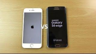 getlinkyoutube.com-iPhone 6s VS Samsung Galaxy S6 Edge - Speed & Camera Test!