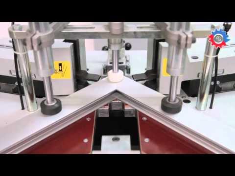 Utilaje tamplarie aluminiu: WZ 136 - masina de sertizat Wizard (part 2)