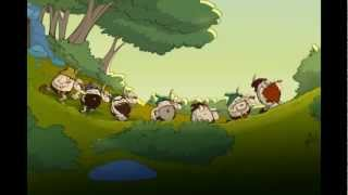 getlinkyoutube.com-Huevocartoon - Blanca y los 7 huevos