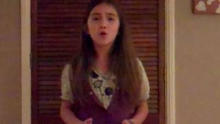 "getlinkyoutube.com-Rowan Blanchard sings Adele's ""Someone Like You"""