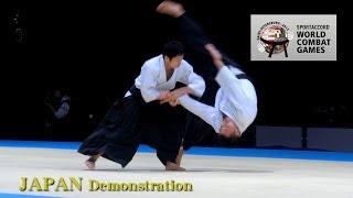 getlinkyoutube.com-Aikido JAPAN -  SportAccord World Combat Games2013