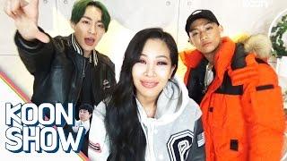 getlinkyoutube.com-럭키제이(Lucky J)와 방송 중 제시(Jessi) 배꼽이 아픈 이유? [Show] - KoonTV