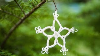 """Tatted """"Snowflake"""" Tutorial and Pattern: part one (Full Project) by RustiKate"""