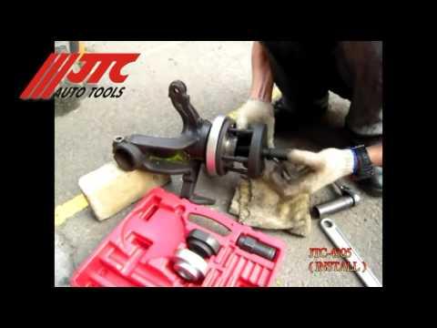 JTC 4305 - Набор инструментов для замены ступичных подшипников (VAG) (в кейсе) JTC