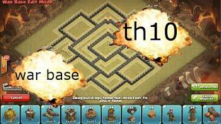 getlinkyoutube.com-clash of clans- EPIC TH10 WAR BASE SPEED-BUILD ANTI 2 STAR / ANTI 3 STAR