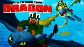 getlinkyoutube.com-Minecraft - HOW TO TRAIN YOUR DRAGON 2 - [1] 'Isle of Berk'