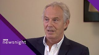 Tony Blair on Brexit, Labour, and populism - BBC Newsnight width=