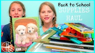 getlinkyoutube.com-Back to School Supplies Haul | Homeschool Supplies Shopping Haul Hopes Vlogs