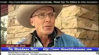 getlinkyoutube.com-Burns Oregon--Update 1-20-16 LaVoy Finicum