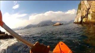 getlinkyoutube.com-Pescaria nas Ilhas Tijucas ( Barra da Tijuca) - Pesca com Caiaque - Kayak Fishing - Leogafanha