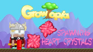 getlinkyoutube.com-Easy Way to Spawn Heart Crystals - Growtopia Valentines