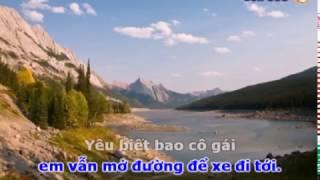 getlinkyoutube.com-Cô gái mở đường - Kraoke Beat