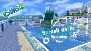 The Sims 4 - Community Build - Splashtastic Swimming Pool