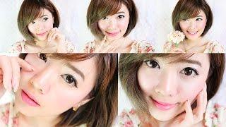 getlinkyoutube.com-How to : แต่งหน้าหวานๆไปออกเดท สไตล์สาวเกาหลี by odbo