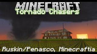 getlinkyoutube.com-Minecraft: Tornado Chasers - Ruskin/Penasco, Minecraftia Tornado Outbreak