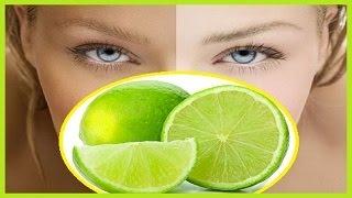 getlinkyoutube.com-Cómo Blanquear Tu Piel en Solo 1 Día con una crema de jugo de limón y leche