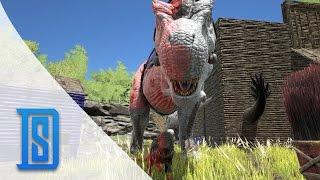 getlinkyoutube.com-Ark Survival Evolved - Bonus Clip - Dino War Paint/ Lets Fail At Painting