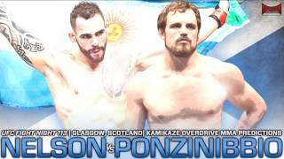 UFC Fight Night 113: Nelson vs Ponzinibbio Predictions- Kamikaze Overdrive MMA