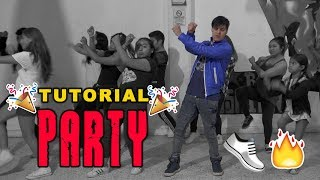Tutorial Party - Chris Brown ft. Gucci Mane, Usher | Coreografía de Leo Rojas || Dance On Fire 👟🔥