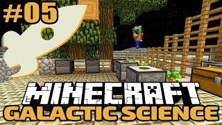 getlinkyoutube.com-Paul kommt zu Besuch! - Minecraft Galactic Science Folge #05