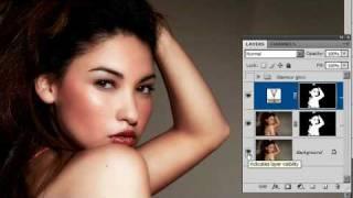 getlinkyoutube.com-Glamour Skin Glow (updated): Photoshop