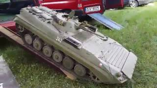 getlinkyoutube.com-1:4 scale, BVP-1, big tanks