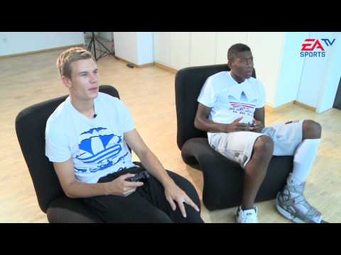 EA SPORTS TV | sterreich - Deutschland mit David Alaba und Holger Badstuber