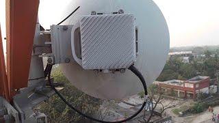 getlinkyoutube.com-42.8 KM Rocket AC Lite & PowerBeam AC 620 Point To Point Radio Link By Ubiquiti Product Part-1