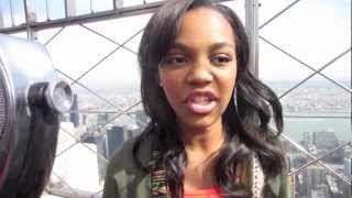 getlinkyoutube.com-Debby Ryan will protect CHINA ANNE MCCLAIN From Falling Off the Empire State Building!