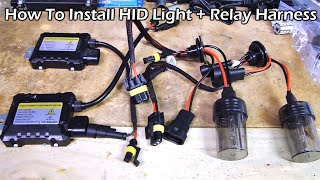 getlinkyoutube.com-How To Install HID Kit Light with Relay Harness