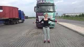 getlinkyoutube.com-Trucking Girl & Nowy Mercedes Actros ep. 49