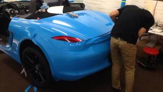 getlinkyoutube.com-Boris Wraps - Porsche Boxster - rear bumper