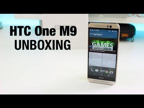 فتح صندوق ونظره اولى لجهاز HTC One M9