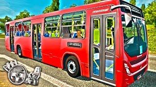 Euro Truck Simulator 2 - Ônibus Torino urbano v2.0! - Som Mercedes Benz OF 1418 - Com Logitech G27