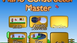 getlinkyoutube.com-Mario Constructor Master [Alpha Preview 4]
