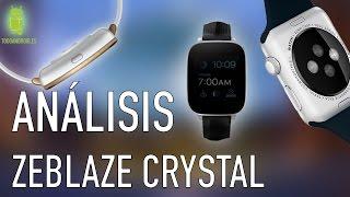 getlinkyoutube.com-Zeblaze crystal, análisis del reloj  smartwatch