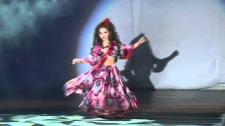 "getlinkyoutube.com-""TIARA"" bellydance school - Milana - fusion (gypsy - oriental) Baby bellydance"