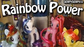 getlinkyoutube.com-Power Ponies Episode 1: My Little Pony Rainbow Power Toy Review/Parody/Spoof