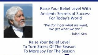 Raise Your Belief Level To Turn Stress Of The Season To More Joy For The Season