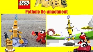 getlinkyoutube.com-Lego Mixels: Pothole Re-Anactment