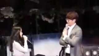 getlinkyoutube.com-Shy, Awkward & Cute SooU (IU & Kim Soo Hyun)