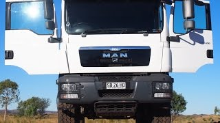 MAN 4x4 Expedition Truck/Camper.  Kimberley WA Trip 2015