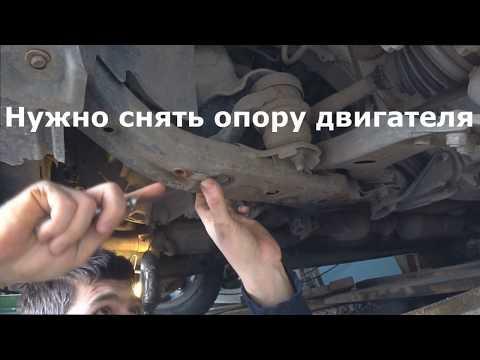 Замена рычагов на Toyota Camry 40