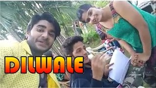 Dilwale Bhojpuri Movie Shooting Footage II Chintu, Neha Shree, Golu