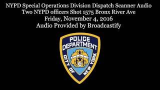 Scanner Audio Two NYPD officers one killed, Perp shot and killed